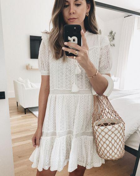 lace summer dress 🖤 http://liketk.it/2PySd #liketkit @liketoknow.it