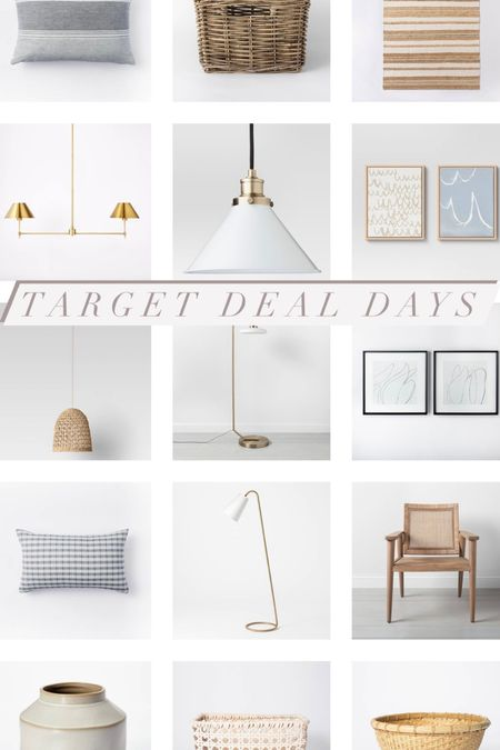Did you see? Target deal days are going on now with 40-50% off lots of home decor including some studio mcgee!   #LTKsalealert #LTKhome