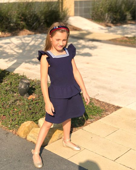 Lily had her first day of 2nd Grade yesterday!! Distance Learning at home w/ mama didn't stop our little lady from putting on her back-to-school best + a huge smile!  🥰 So many of you messaged me about her outfit when I shared her pic in stories! It's all from one of my favorite kids' brands and this dress is on sale right now! Only baby sizes left on the main website, so I've linked to another source with more sizes. I'm also revealing the pink dress I bought on sale for her upcoming 7th Birthday!! 🥳 You can instantly shop all of my looks by following me here in the 👉🏻 @liketoknow.it shopping app, I'm under 'TheClassyWoman'. http://liketk.it/2UKds #firstdayofschooloutfit #distancelearning #kidsofig #2ndgrade #homeschooling #quarantinelife #mylove #5yearsold #ladylike #janieandjack #firstdayofschool #liketkit #StayHomeWithLTK #LTKkids
