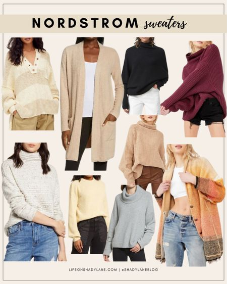 Nordstrom anniversary sale top picks - SWEATERS! http://liketk.it/3joxO #liketkit @liketoknow.it #nsale #nordstrom #fall #fallfashion #sweaters