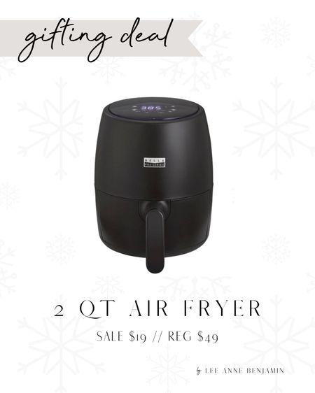 2 QT Air Fryer on major sale!  Sale $19 // Reg $50 Under $20 gift idea!   #LTKSeasonal #LTKGiftGuide #LTKHoliday