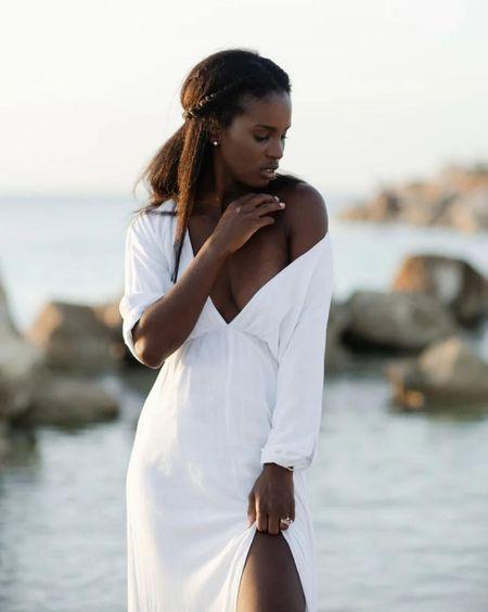 Favourite white summer dress restocked also comes in beige  Wearing size s    #LTKstyletip #LTKunder100 #LTKSeasonal