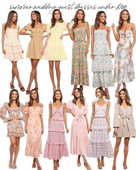 Dresses under $100  #LTKunder100