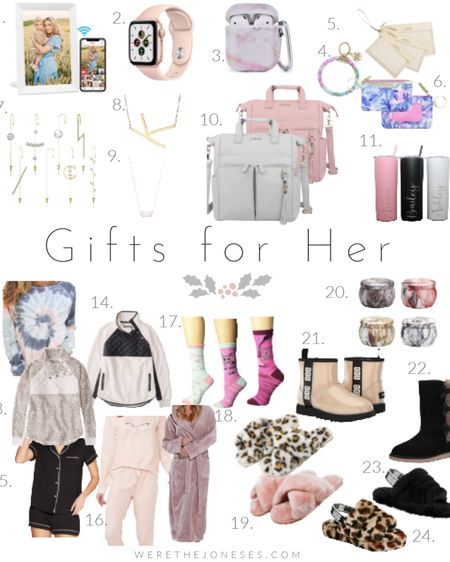 Gifts for Her - Part One  . . .  http://liketk.it/33YWO #liketkit @liketoknow.it #LTKgiftspo #LTKitbag #LTKsalealert gift ideas, mom gifts, girlfriend gifts, gifts for women, Christmas gift ideas, holiday gifts, gift guide, teacher gifts, loungewear, slippers, Uggs, lily jade bag, comfy clothes