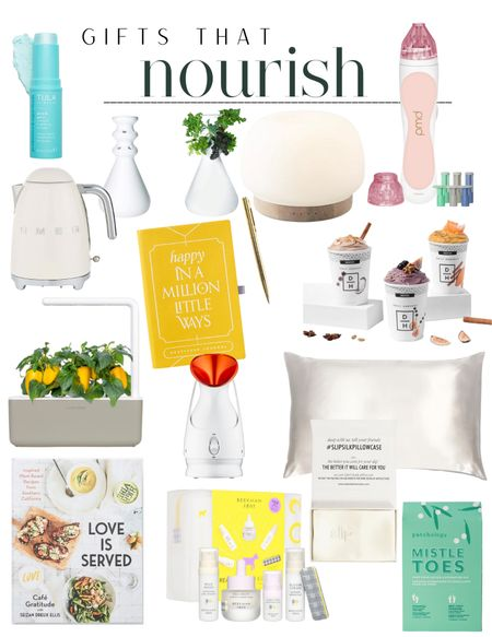 Gifts that nourish: holiday gift guide, gifts for her, gifts for self care, gifts for health and more🎄    #LTKGiftGuide #LTKSeasonal #LTKHoliday