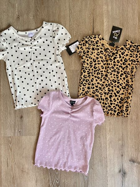 Run & snag these $8 tops from Target while you can.  So cute!!   #LTKkids