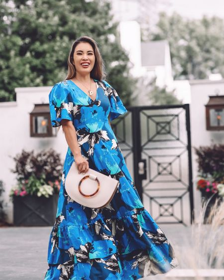 Target designer dress - 0 / TTS  Christopher John Rogers floral puff sleeve dress  Wedding guest graduation vacation outfit   @liketoknow.it http://liketk.it/3gDn5 #liketkit #LTKunder100 #LTKstyletip #LTKwedding