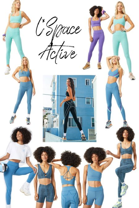new activewear set from LSpace  mix and match all their pieces!     #LTKstyletip #LTKfit
