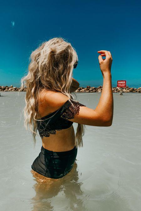 beach wave hair + simple back bikinis for summer 🌊 #LTKtravel #LTKswim #LTKunder100 http://liketk.it/3htkI #liketkit @liketoknow.it Shop your screenshot of this pic with the LIKEtoKNOW.it shopping app