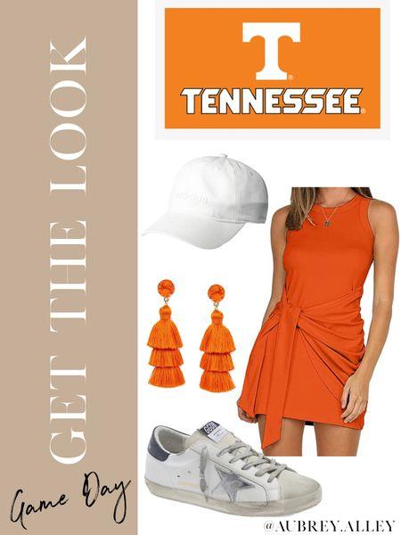 University of Tennessee game day #ootd 🧡🤍  #LTKSeasonal #LTKunder100 #LTKunder50