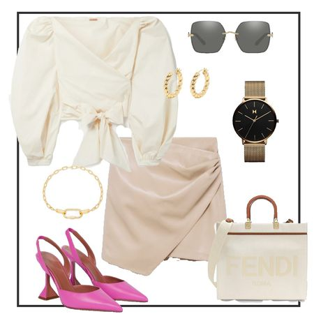 Neutral outfit with a pop of color! #LTKstyletip #LTKitbag #LTKshoecrush