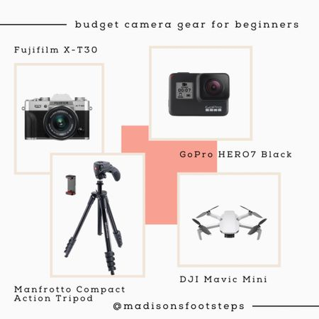 Budget-friendly camera gear for beginners! Fill your camera bag and up your Insta-game with these affordable gadgets. #liketkit @liketoknow.it #LTKcameragear #LTKelectronics Shop your screenshot of this pic with the LIKEtoKNOW.it shopping app http://liketk.it/35MFp