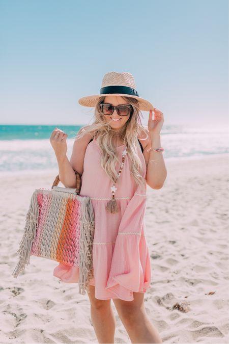 Pink summer dress or beach coverup on sale for $24 until June 23! http://liketk.it/3i1NG @liketoknow.it #liketkit #LTKsalealert #LTKunder50 #LTKunder100 Walmart finds, Walmart Deals for Days
