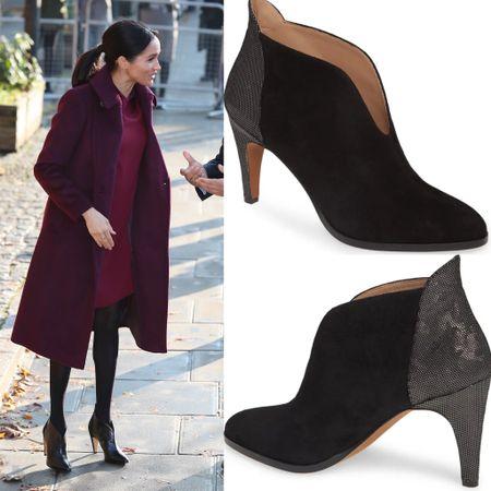 Meghan inspired booties #shoes #boots #givenchy #sale #under100  #LTKeurope #LTKsalealert #LTKshoecrush