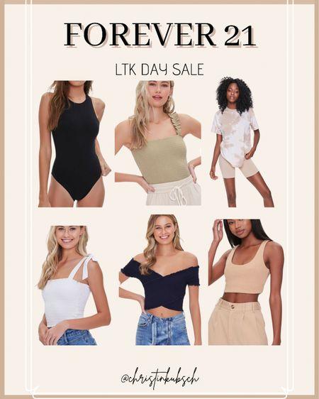 Forever 21 tops for ltk day sale    http://liketk.it/3hvf2 #liketkit @liketoknow.it #LTKunder50 #LTKsalealert #LTKunder100