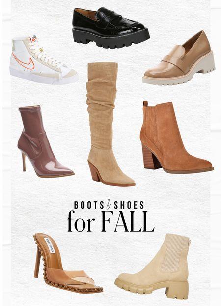 Shoes  & boots I am loving for fall 2021!  — Loafers — Nike blazers — Knee high — Heels  #LTKshoecrush #LTKstyletip #LTKunder100