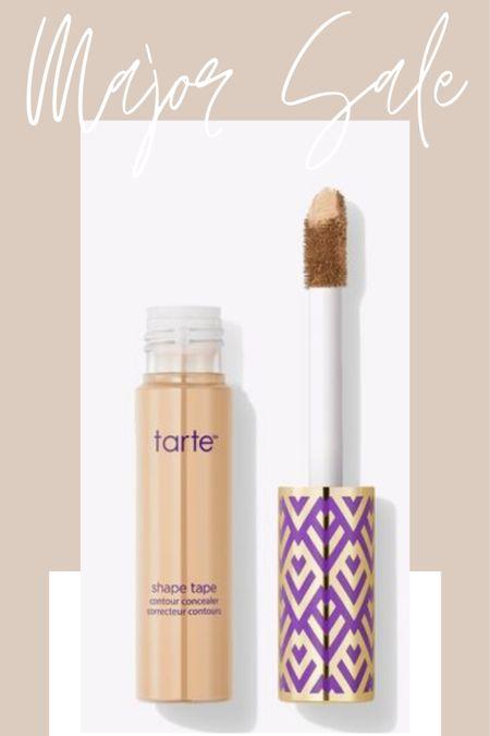 Major sale alert! Today only Tarte is offering 50% off their best selling shape tape concealer and 30% off the rest of the site! HUGE! / @liketoknow.it #liketkit #StayHomeWithLTK #LTKbeauty http://liketk.it/2T9b6  #LTKsalealert