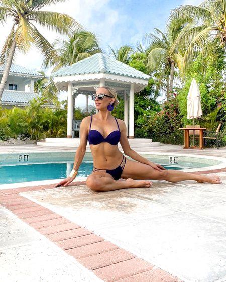 How to get a bikini body: put a bikini on your body 💙 . Full review on this beautiful luxury adults all inclusive resort @beachhousetci coming to the blog soon. . #caribbeanlife #turksandcaicosislands  #providenciales #turksandcaicos #luxurytravelblogger #vsswim #victoriassecret #caribbean #adultsonlyresort #beachhousetci #boutiqueallinclusive #bikinimodel  #LTKtravel #LTKswim #LTKsalealert
