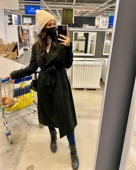 Favourite black coat! So stylish and chic. Use code HANAN for an additional discount!  http://liketk.it/351o2 #liketkit @liketoknow.it  #blackcoat #fallcoat #streetstyle #blackwrapcoat #fallcoats #wintercoats #fallstyle #winterstyle