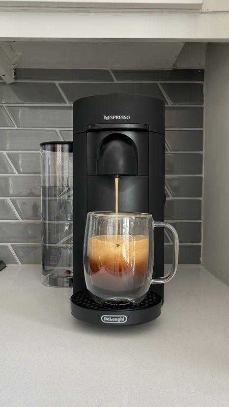 I now understand the obsession behind @Nespresso! Here's how I make my iced coffee at home with my VertuoPlus coffee machine and glass coffee mugs from @QVC! ✨  First time customers can use code 'BIRTHDAY' for $15 off an order of $50 or more! Second time customers can use 'HELLO10' for $10 off an order of $25 or more! #QVC is the perfect destination for all of your summer kitchen staples. AD 🌞✨☕️    @liketoknow.it http://liketk.it/3ibMr #liketkit   #LTKhome #LTKsalealert