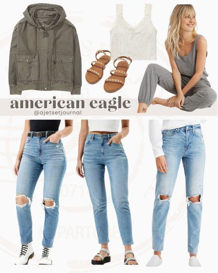 American eagle favorites #americaneagle #ae #aeo #americaneaglefinds #LTKbacktoschool   #LTKunder100 #LTKunder50