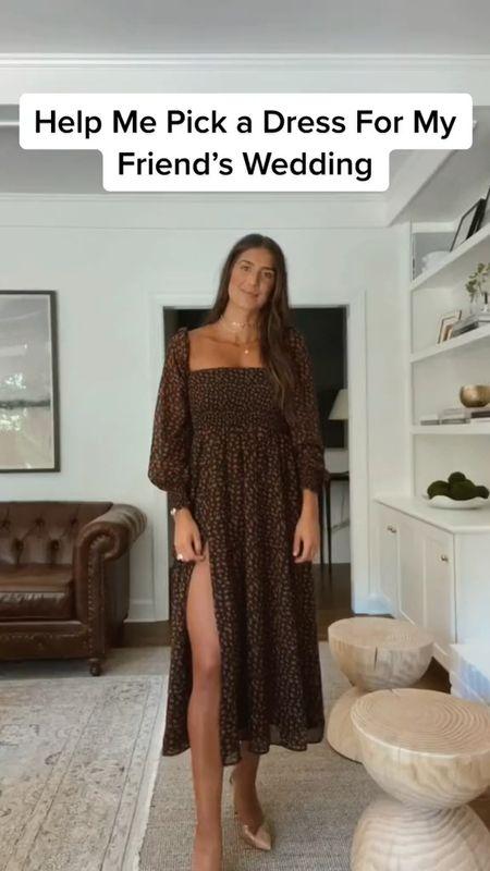 Wedding guest dress, cocktail dress, black tie attire   #LTKwedding