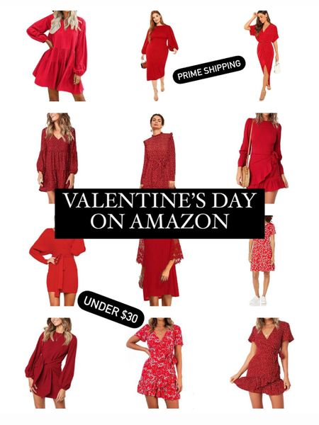 Get your Valentine's Day outfit NOW! Quick and easy on Amazon prime! http://liketk.it/35MAZ #liketkit @liketoknow.it #LTKunder50 #LTKcurves #LTKunder100