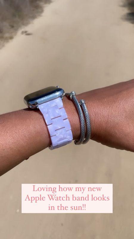 Apple Watch band. Apple Watch. Bracelets.   #LTKunder50 #LTKfit #LTKstyletip