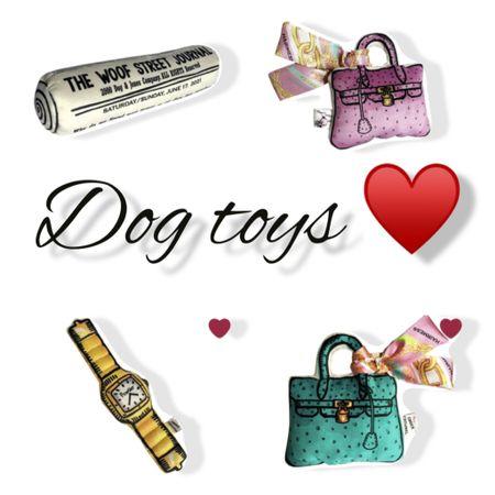 Hermes and Cartier dog toys   #LTKunder100 #LTKfamily #LTKhome