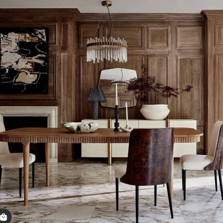Shop this old world charm dining set.   #LTKSeasonal #LTKhome