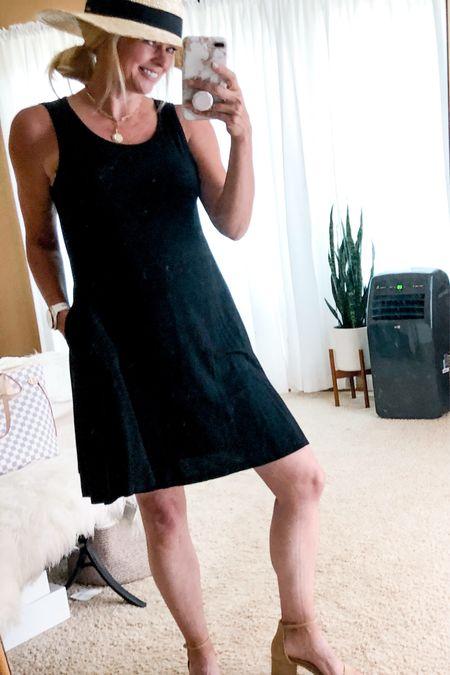 Summer hat outfit. Casual summer outfit. Summer dress. Amazon find.   #LTKunder50 #LTKstyletip #LTKtravel