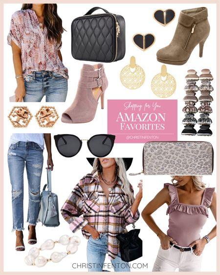 Amazon fashion finds! Click the products below to shop! Follow along @christinfenton for new looks & sales! @shop.ltk #liketkit #founditonamazon 🥰 So excited you are here with me! DM me on IG with questions! 🤍 XoX Christin  #LTKstyletip #LTKshoecrush #LTKcurves #LTKitbag #LTKsalealert #LTKfit #LTKunder50 #LTKunder100 #LTKbeauty #LTKworkwear