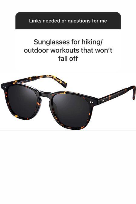 Sunglasses that won't slide off   #LTKunder50