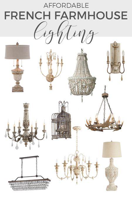 http://liketk.it/3jhhP #liketkit @liketoknow.it #LTKfamily #LTKhome #LTKstyletip Shop these affordable French farmhouse chandeliers!