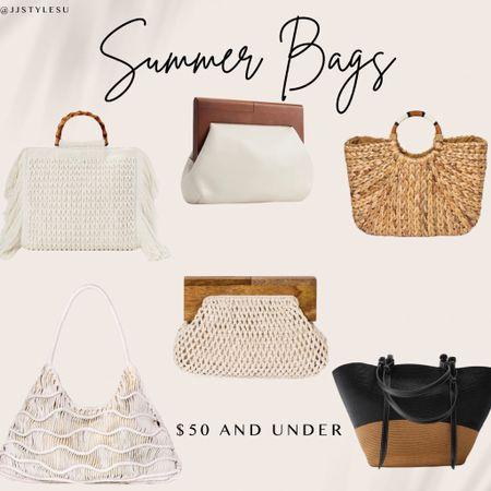 My Favorite Bags for this Summer.   Walmart WalmartFinds Target TargetFinds Express Expressfinds Bags StrawBag WovenBag Satchel HoboBag Crossbody FringedBag white Clutch      #LTKunder50 #LTKsalealert #LTKitbag