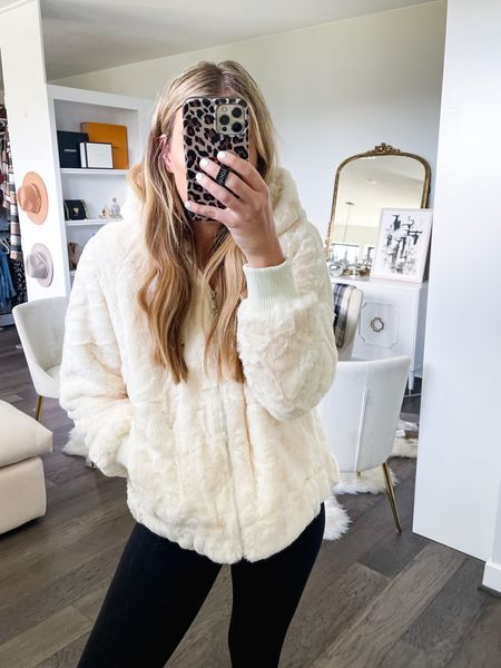 Ummm say hello to your new best friend. This faux fur amazon coat ! On sale for $34! Size up one size ! More colors too !  #LTKsalealert #LTKstyletip #LTKunder50
