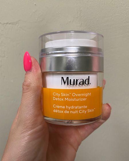 Best nighttime moisturizer, hands down!!  @liketoknow.it.home @liketoknow.it.family #LTKDay #LTKbeauty #LTKsalealert @liketoknow.it #liketkit http://liketk.it/3gNDU         Murad Nighttime moisturizer  Sale day Sale alert Murad moisturizer  Skincare products  Skincare routine