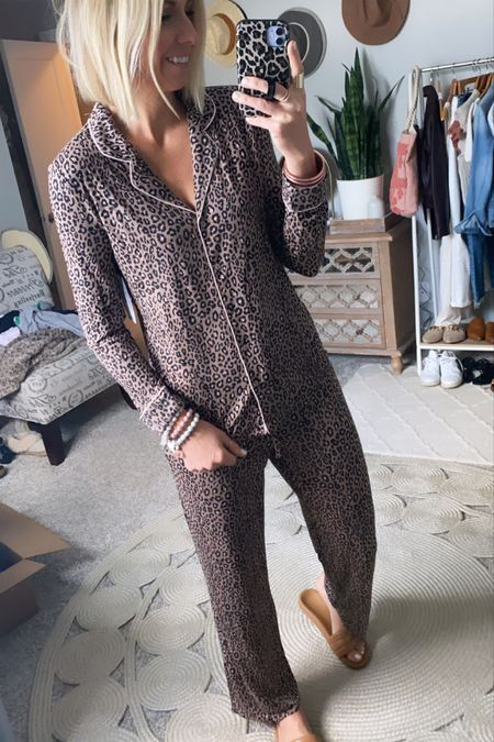 The coziest + super chic pjs from the #nsale  I got my true size small in these. They are on major sale & worth every $!!   #LTKstyletip #LTKunder50 #LTKunder100
