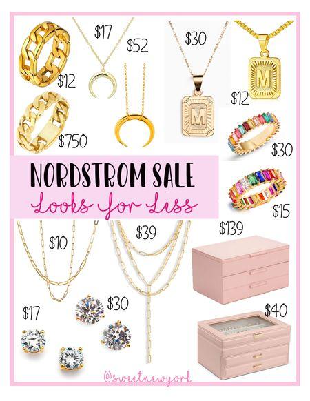 Rounding up some Nordstrom #NSALE jewelry picks and looks for less from Amazon   #LTKsalealert #LTKstyletip #LTKunder50