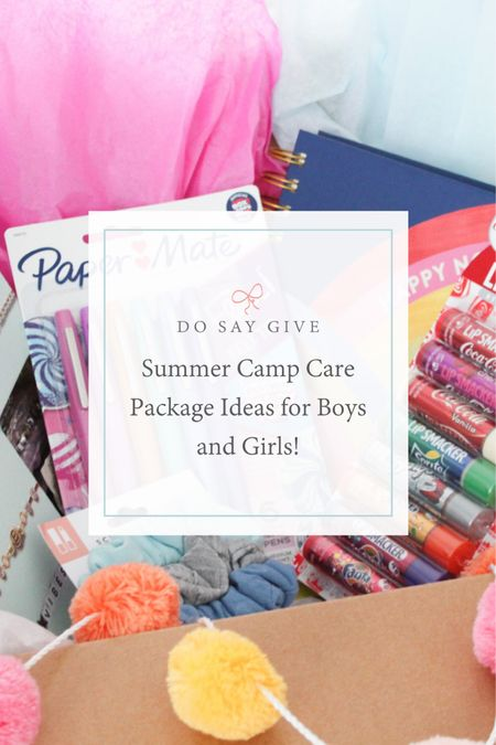 summer camp care package, gifts for children, sleepaway camp. http://liketk.it/3hPjf #liketkit @liketoknow.it #LTKkids #LTKfamily #LTKhome @liketoknow.it.family @liketoknow.it.home