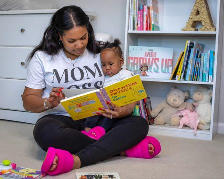 Mommy & mini! 🥰  #LTKfamily #StayHomeWithLTK #LTKbaby
