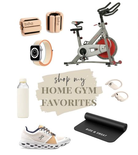 home gym essentials🤎 cycle bike. stationary bike. at home exercise. on shoes. weight loss.  #LTKfit #LTKhome #StayHomeWithLTK