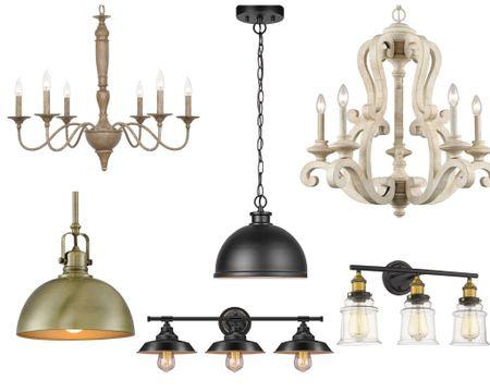 A few of my favorite lighting deals!   #LTKhome #LTKSale #LTKsalealert