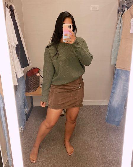 Nordstrom anniversary sale / #nsale  Another sweater/ skirt combo  #fallstyle    #LTKstyletip #LTKsalealert #LTKunder100
