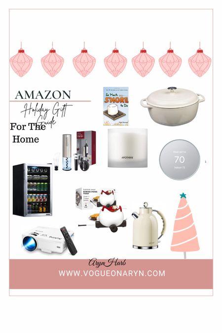 Holiday gift guide for for the home , s'mores kit , fridge , movie   #LTKGiftGuide #LTKhome #LTKHoliday