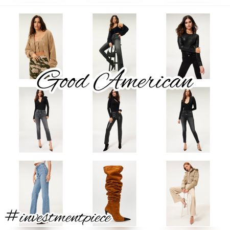 From on trend puffers to faux leathers to great fitting denim- everything is 20% off @goodamerican with code 5YEARS #investmentpiece   #LTKSeasonal #LTKsalealert #LTKstyletip