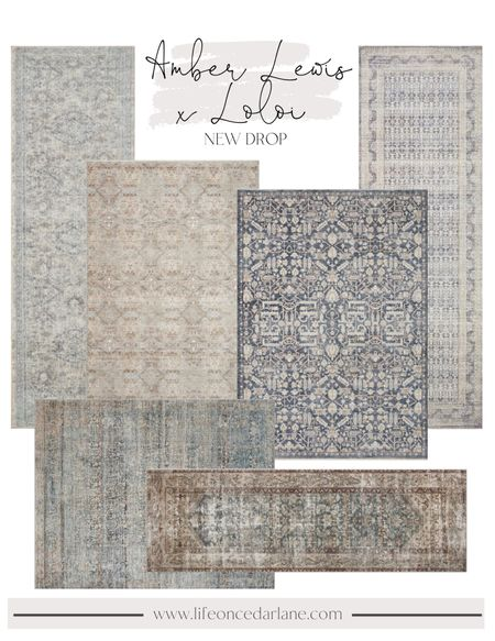 Amber Lewis x Loloi. So many beautiful rugs in this new line! Perfect way to refresh any space in your home!!   #LTKhome #LTKSeasonal