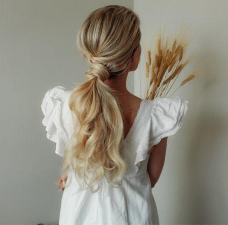 Fall ponytail style 🍁  #LTKSeasonal #LTKSale #LTKbeauty