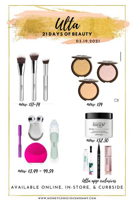 Today's 50% Beauty Steals! #itcosmetics #beccacosmetics #nuface #nursejamie #pmd #philosophy   #LTKsalealert #StayHomeWithLTK #LTKbeauty