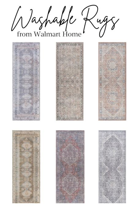 Walmart washable rugs and runners! Perfect for your kitchen and bathroom. Modern farmhouse home design and decor affordable accents kitchen design pendant  lighting open shelving dishes and tabletop dinner ware gap home Walmart home  #LTKunder100 #LTKhome